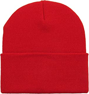 2c0b7ec2022 Thick and Warm Mens Daily Cuffed Beanie OR Slouchy Made in USA for USA Knit  HAT