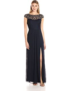 9f28f3d8d6f Xscape Women's Beaded Off The Sholder Dress at Amazon Women's ...