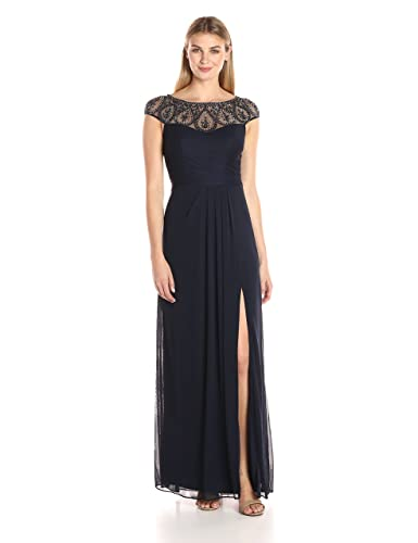 Xscape Women's Mesh Gown with ...