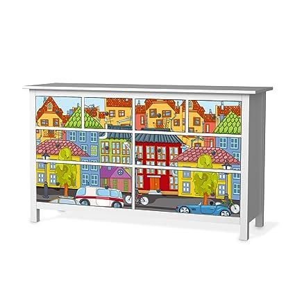 Habitación de los Niños Decoración protectores para cómoda de Ikea ...