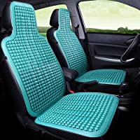 Qivor Car Universal Fabric seat Cover Car Seat Cushion Summer Cool Pad Breathable Cooling Pad Ventilation Plastic Seat Car Pad Four Seasons Universal Single Piece (Color : Blue, 样式 : A)
