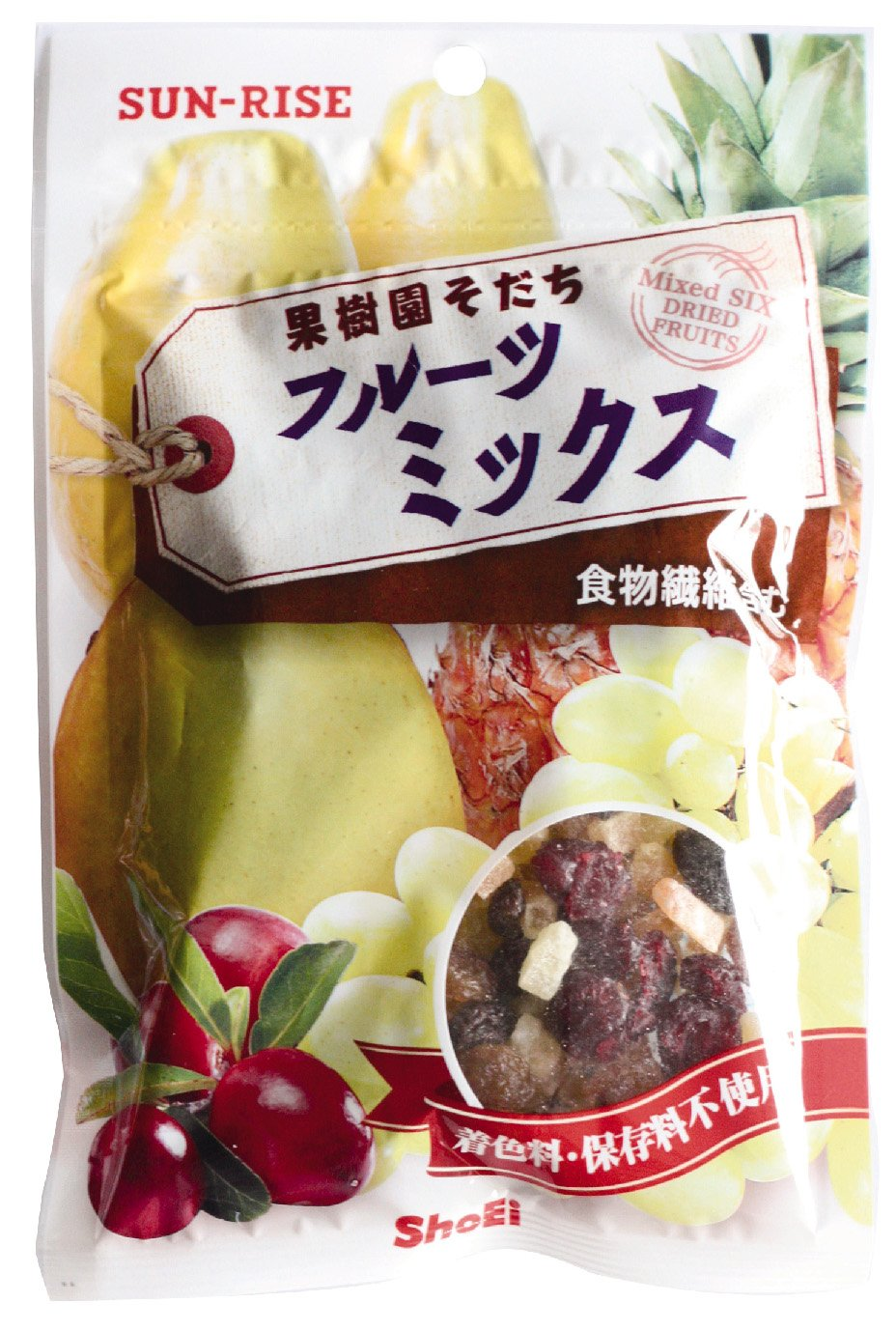 SUNRISE fruit mix 100gX12 bags