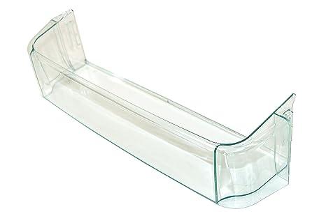 Zanussi Estante plástico para Puerta de frigorífico, accesorio de nevera para botellas o como bandeja