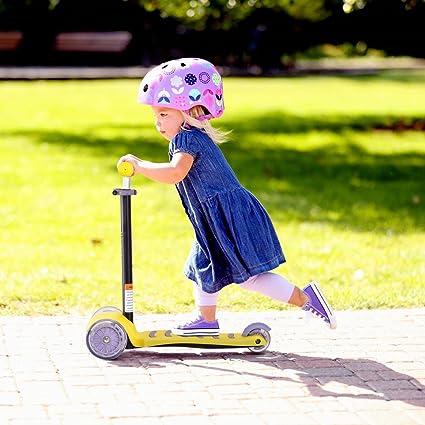 Amazon.com: 3 luz LED hasta ruedas de poliuretano para niños ...