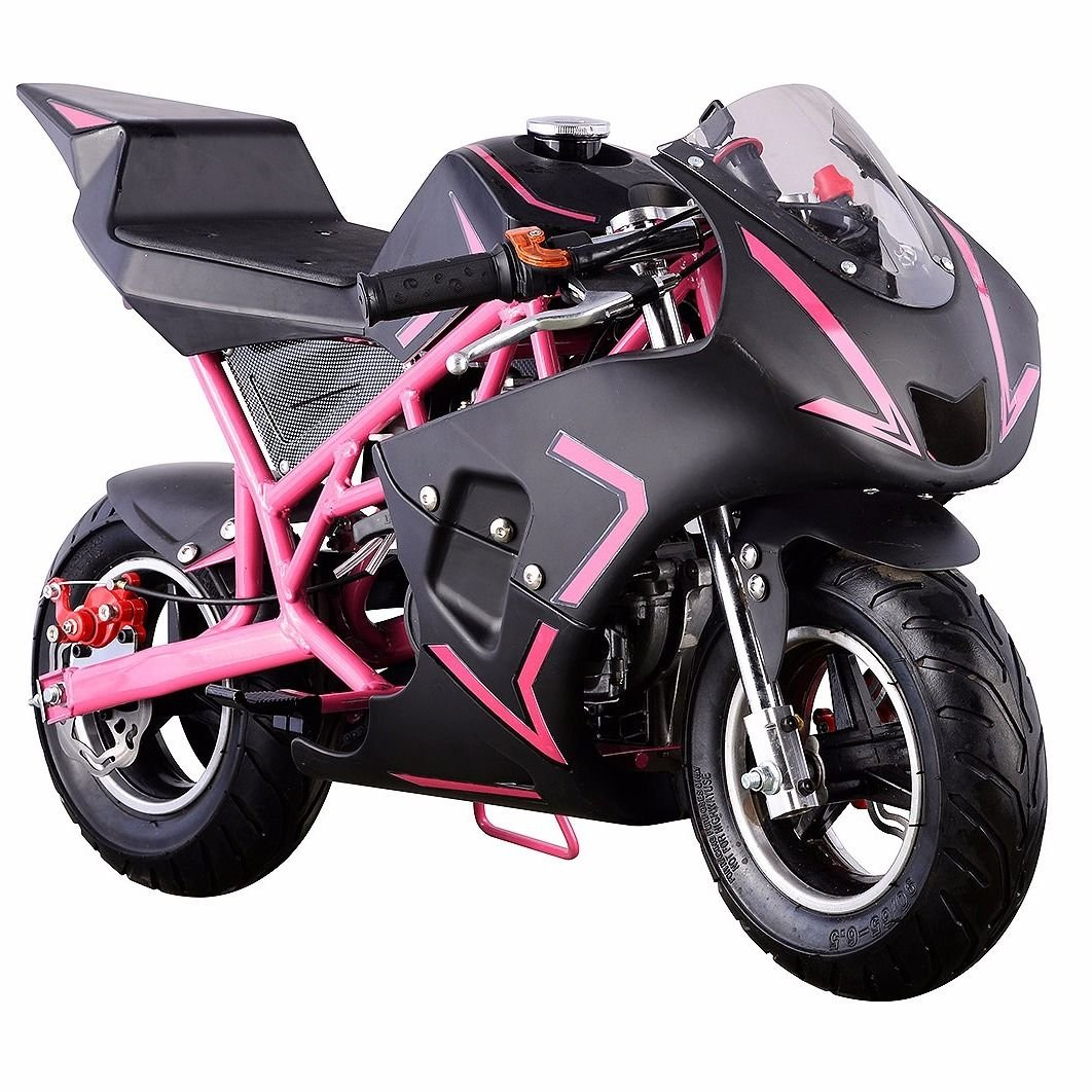 Amazon.com: NUEVO Motor de Gas Pocket Bike Moto Scooter 40 ...