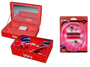Joyero Ladybug Miraculous - Adorno para el Cabello Ladybug ...