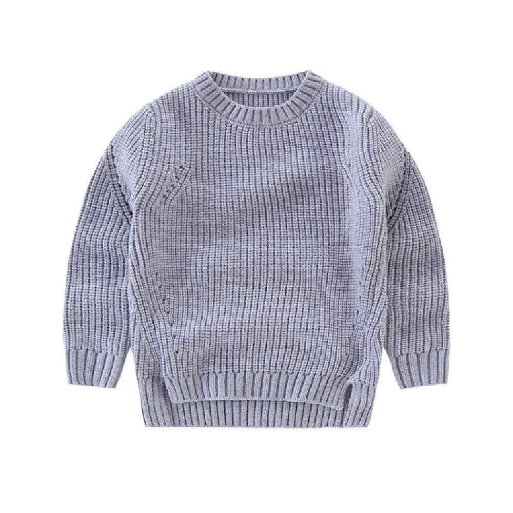 BCVHGD Boy Sweater Winter Wool Knitted Pullover Cardigan for Baby Girls Children Clothes Kids Christmas Tops