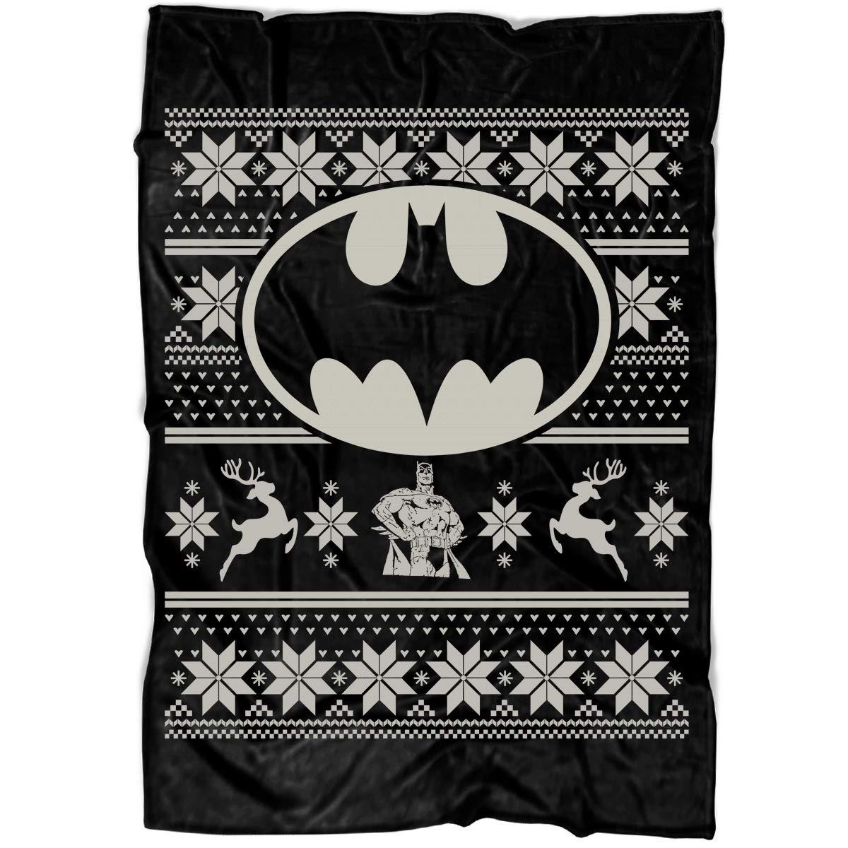 Amazon.com  I Love Batman Logo Soft Fleece Throw Blanket c7bd3f4fb