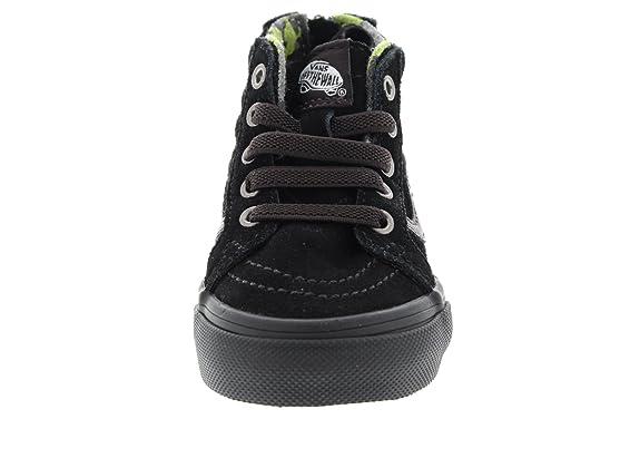 VANS Kids Sneaker - SK8-HI ZIP MTE - black lime, Tama?o:20 EU