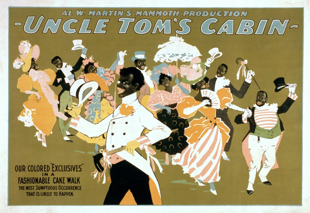 Uncle Tom's Cabin - African American Dance Party Poster (8oz Whole Bean Small Batch Artisan Coffee - Bold & Strong Medium Dark Roast w/Artwork) by Lantern Press (Image #4)