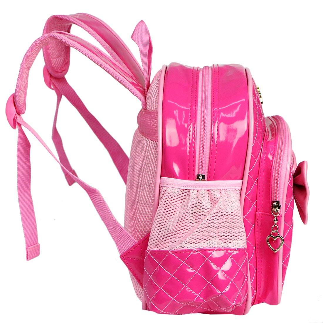 37f07acadb7 Red   kilofly Kids Preschool Kindergarten Little Girl School Backpack + Zippered  Pouch  Amazon.in  Home   Kitchen