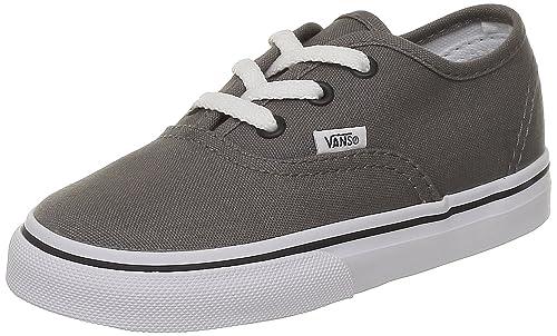 28865cdebaf30b Vans Boys  Authentic - Pewter Black - 1