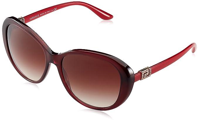 Versace 0Ve4324B, Gafas de Sol para Mujer, Marrón (Opal ...