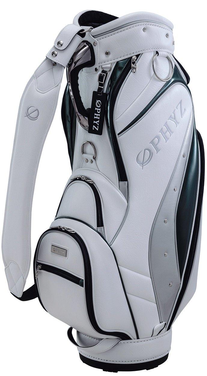 ブリヂストンゴルフ(BRIDEGESTONE GOLF) PHYZ キャディバッグ CBPH60 B01GC6YUD8ホワイト