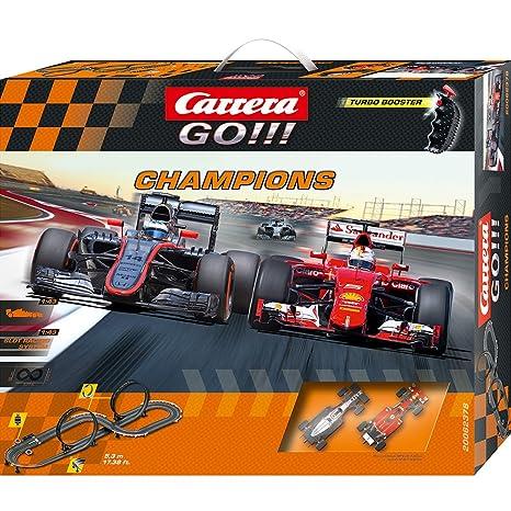 carrera go macchine  Carrera GO !!! - Pista per auto Formula 1, incl. McLaren-Honda MP4 ...