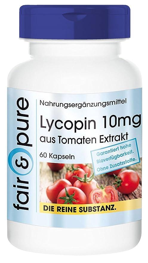 Licopeno cápsulas - Procedente de extracto de tomate - Lycopene 10 mg - Alta pureza - 60 Cápsulas