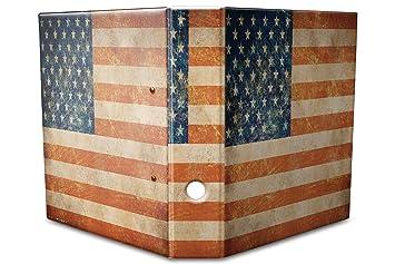 Diseño de documentos Carpeta estampado 60 mm din a4 Estados Unidos: Amazon.es: Oficina y papelería