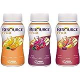 Resource® Fruit - Mischkarton / 3 Geschmacksrichtungen - Trinknahrung - 200 ml - 24 Flaschen