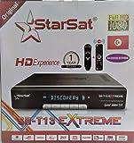 Starsat Satellite Receiver (Model SR-T13 Extreme) Wifi Support H265