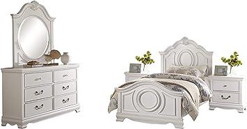 Amazon.com: Libby Girls Cottage 5PC Bedroom Set Full Bed ...