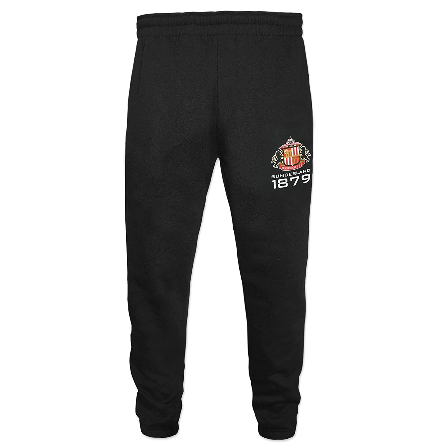 Sunderland AFC Official Gift Boys Slim Fit Fleece Joggers Jog Pants