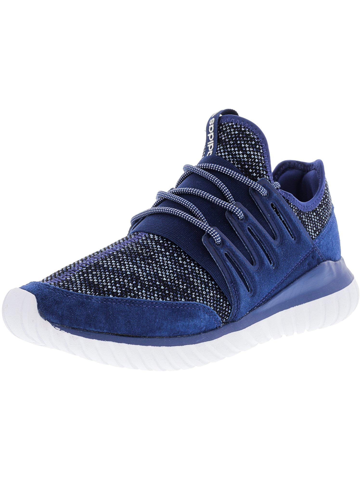 best sneakers 2f8a6 3850e Galleon - Adidas Originals Mens Tubular Radial Fashion Running Shoe,  Mystery Tactile Blue Black, (8 M US)