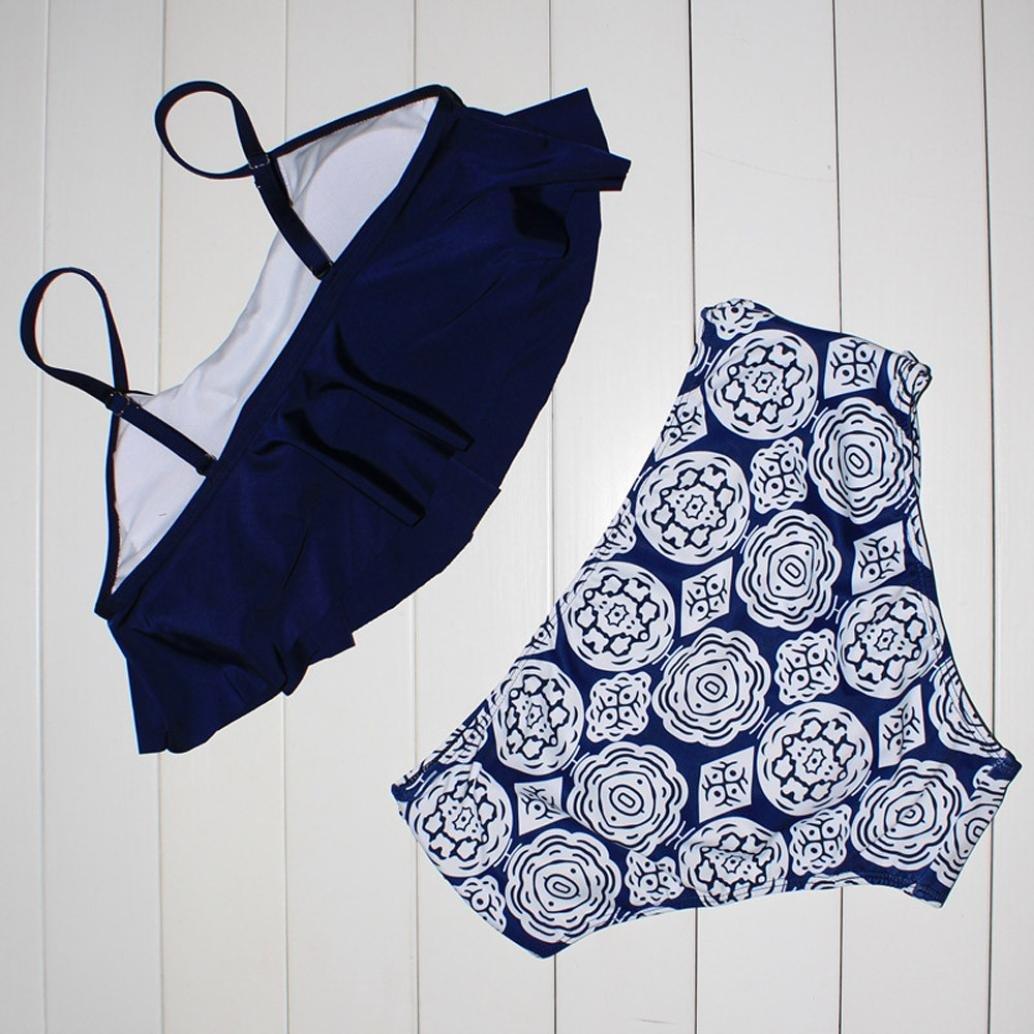Bañador Mujer Sexy, Amlaiworld Conjuntos de Bikinis de Mujer Trajes de baño Bañadores Bikinis Bikini Push Up Deportivos Bañador Trajes De Baño Swimwear ...