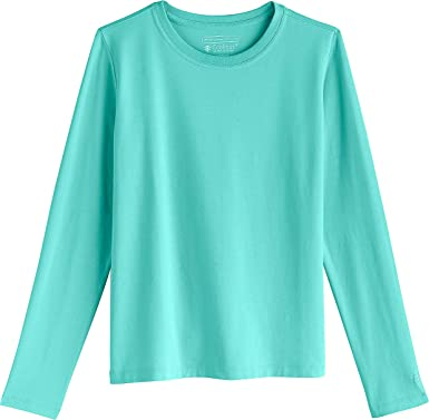 5c973502a095 Coolibar UPF 50+ Kids' Long Sleeve Everyday T-Shirt - Sun Protective (