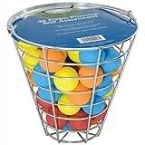 Intech Range Bucket with 48 Multi-Color Foam Golf