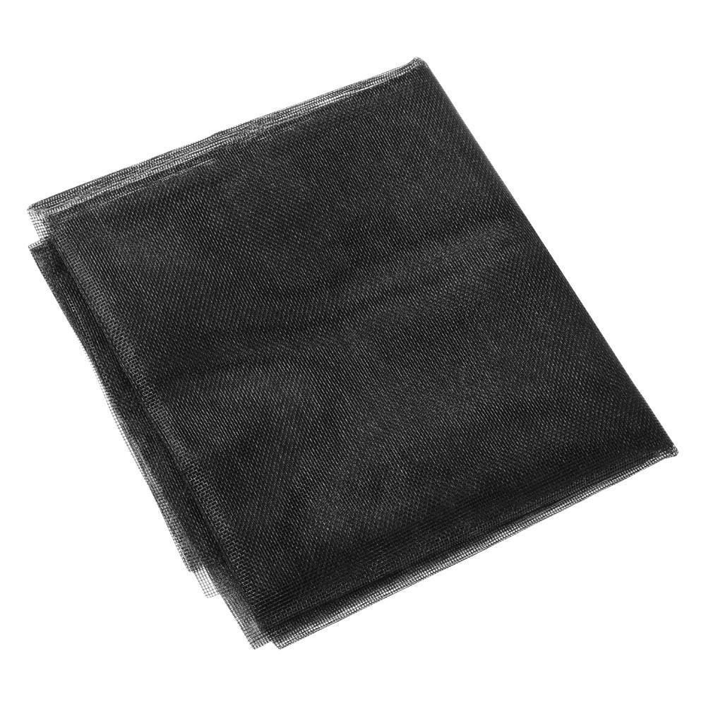 Yaheetech Moustiquaire Fen/être 500x120cm D/écoupable Filet Protection Anti-Insecte Maille Fine Stop Insecte Ind/échirable en Fibre de Verre Noir