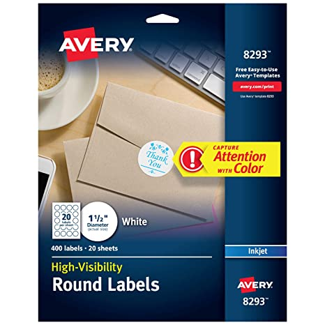 Avery High-Visibility 1 5