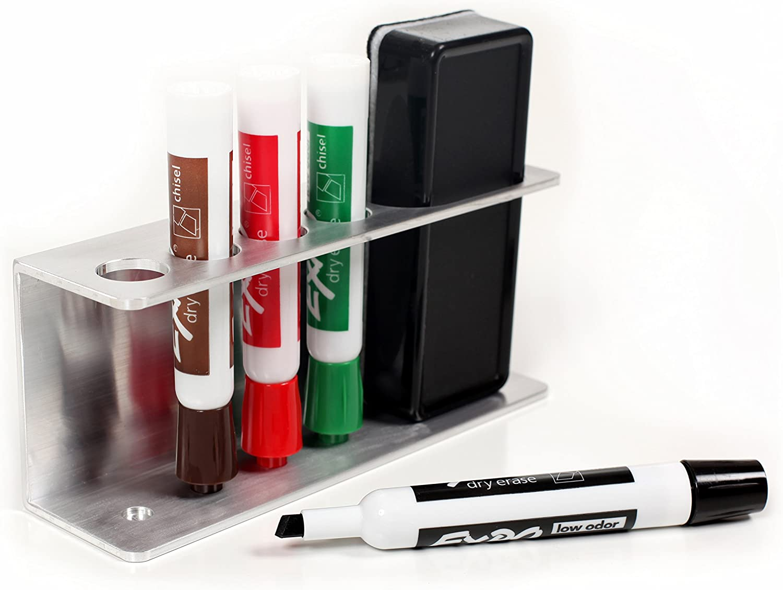 Marker holder tray for whiteboards