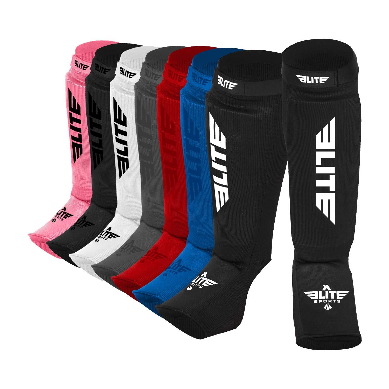 Eliteスポーツ新しいアイテム保護Kickboxing、MMA、タイ式Shin & Instep Guards脚パッドトレーニング保護ギアWashable
