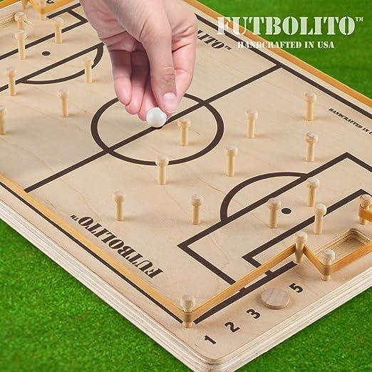 Pelaez Creative LLC Futbolito - Juego de Mesa de fútbol: Amazon.es: Deportes y aire libre