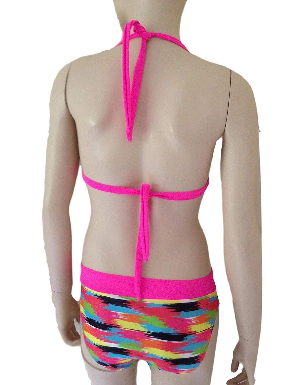 Bikini//Costume da Bagno per Ragazze et/à 7-16 Anni