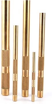NULL Mayhew Tools 67002 3 Piece Brass Drift Punch Set
