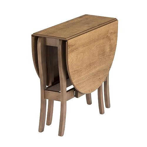 Mood Furniture HEATPROOF Oval Gateleg Gate Leg Drop Leaf Table In Warm Oak  U2013 Folding Table