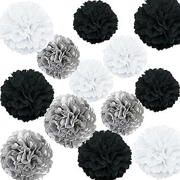 Amazon Lg Free 12pcs 8inch 10inch Paper Pom Poms Decorative