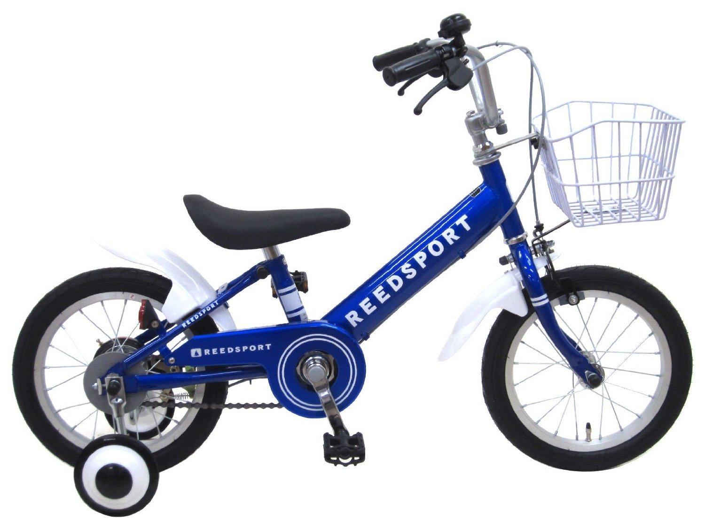 リーズポート(REEDSPORT) 18インチ ブルー 補助輪付き 組み立て式 子供用自転車 幼児自転車 B01GDWJDE2