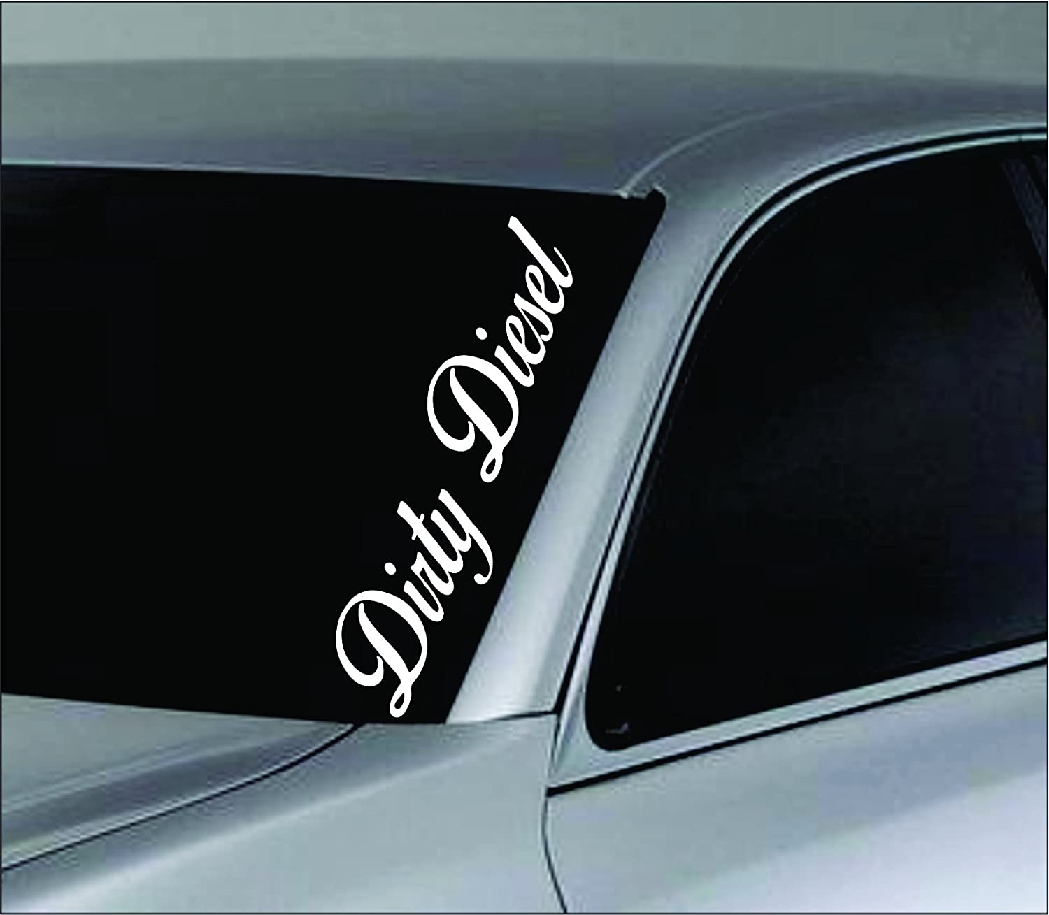 Amazoncom Dabbledown Decals Large Dirty Diesel Car Truck Window - Window decals amazon