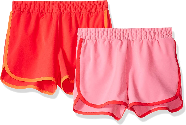 Essentials Girls 2-Pack Active Running Short