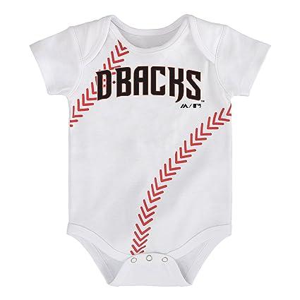 279a5cd3de9 Outerstuff MLB Arizona Diamondbacks Boys Infant Baseball Creeper Tee