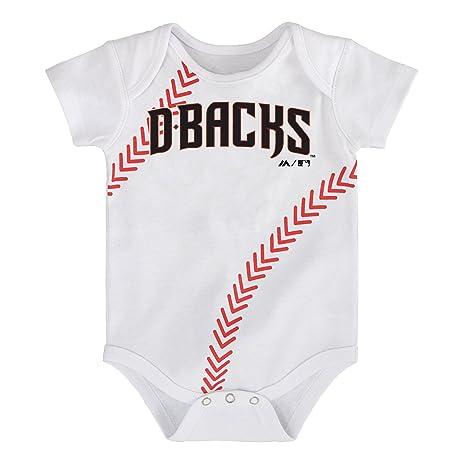 Amazon Com Mlb Boys Mlb Newborn Infant Boys Baseball Onesie