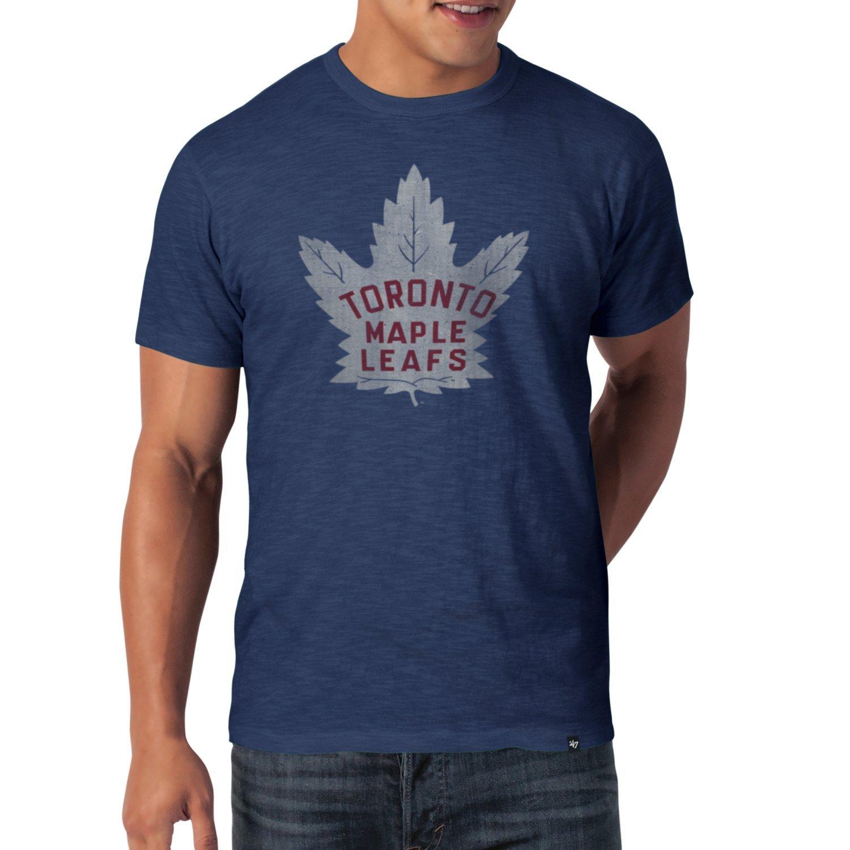 '47 Brand SCRUM Slim Shirt - NHL Toronto Maple Leafs blue