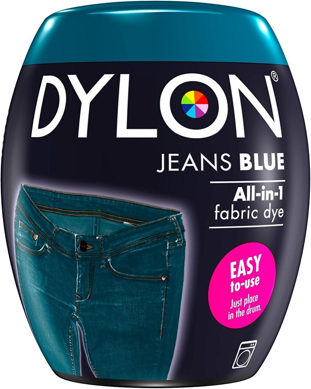 Dylon Tinte a máquina – Jeans Blue, 350 g (Jeans Blue x2)