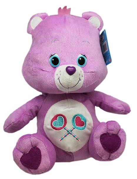 38de5ca3c16 Amazon.com  Small Size Care Bears Light Purple Share Bear Plush Doll ...