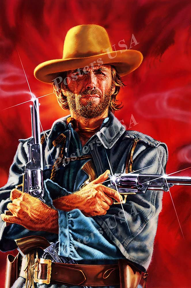 """Posters USA - Clint Eastwood The Outlaw Josey Wales Movie Poster GLOSSY FINISH - FIL079 (24"""" x 36"""" (61cm x 91.5cm))"""