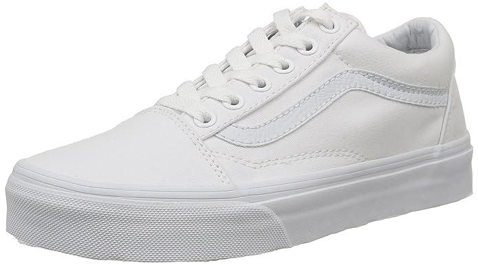 Vans Old Skool Herren Sneaker Weiß
