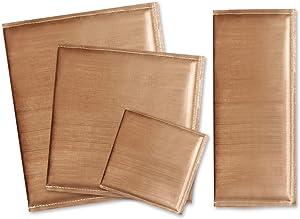 4 Size Heat Press Pads Heat Press Pillow Mat Heat Pressing Transfer Pillow, Teflon Heat Resistant Mat Pillow for Heat Press Digital Transfer (4 Pack)
