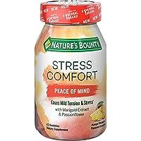Nature's Bounty Stress Comfort Peace of Mind, 42 Gummies